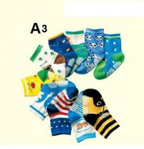 China Stunning style knitted terry cotton boys socks on sale