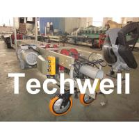 Steel 29 - 26 ga Portable Rainspout Roll Forming Machine for Rainwater Downpipe