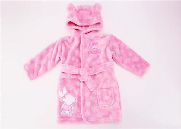 556a4357c8 Warm Comfortable Baby Hooded Bathrobe