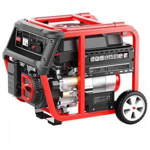 Quality 6kw 6kva Gasoline Inverter Generator , 110v / 220V Home Small Petrol Generator for sale