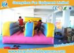 China Multifunctional  2 Lines Inflatable Bungee Run Games With 0.55mm Plato PVC Tarpaulin wholesale