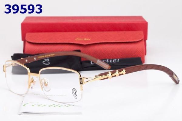db1dc97e2a Wholesale Replica Cartier Carved Wood Frame Glasses
