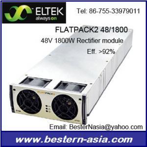 China Eltek Flatpack2 Rectifier Module 48/1800 241115.001 on sale