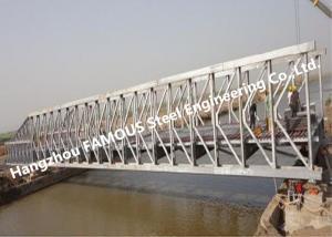 China Multi-span Single Lane Steel Box Girder Bailey Bridges Structural Formwork Truss Construction on sale