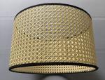 PVC Inner Rattan Drum Lamp Shade
