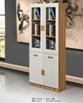 Large Nordic Bookcase Can Accommodate A Variety Of Books And Items