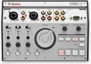 Vestax Pbs 4 Video Audio Web Broadcasting Mixer Usb For Sale