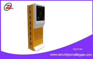 China Access control automatic car park payment machines with crash barrier on sale