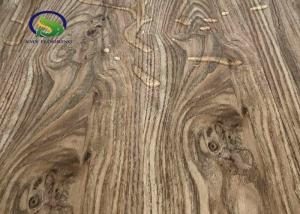 China Oak Wood Look Laminate SPC Flooring Stain Resistant With Transparent Wear Layer on sale