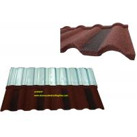 China Roman Tile Coloured Corrugated Roofing Sheets For Building Material on sale