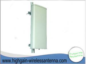 China 3G WLAN Outdoor Directional 14 DBi Base Station Antenna Panel Vertical Polarized on sale
