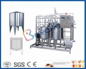 China Full Automatic Yogurt Production Equipment , 2000L - 20000LPH Industrial Yogurt Machine on sale