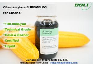 China 130000 U / ml Glucoamylase Enzymes For Ethanol Technical Grade High Concentration on sale
