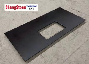 China Custom Black Corrosion Resistant Epoxy Resin Lab Countertops For Analysis Room on sale