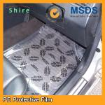 Rot Proof Carpet Plastic Film Carpet Protection Tape Hot Temperature Endurable