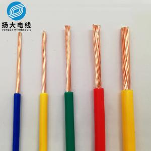 China 1.5mm2 Bared Copper Wires And Cables Standard Pure Annealed Copper Conductor on sale