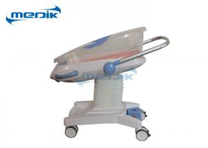 China Touch Penal Medical Baby Cribs Height With Weighing Scale System Fit Infant on sale