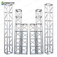 Events Used Square Aluminum 6061-T6 290mm/390mm Spigot Truss for outdoor event or exhibiton