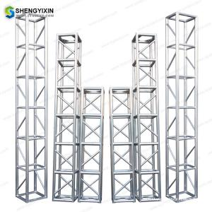China Events Used Square Aluminum 6061-T6 290mm/390mm Spigot Truss for outdoor event or exhibiton on sale