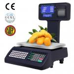 Label Receipt Printing Scale POS System Cash Register For Convenient Store