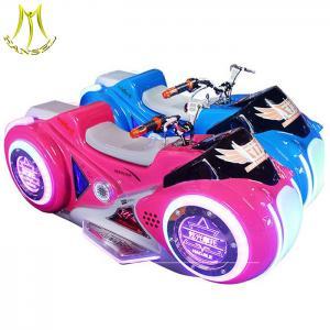 China Hansel amusement park equipment kids fiberglass motorcycle rides on sale