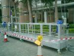 Aluminum hoist suspended platform / electric cradle / gondola electric platform