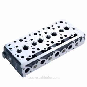 China Casting Iron Auto Cylinder Heads For Kubota V2403 Excavator Bullzoer Forkift on sale