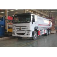 Sinotruk Howo Heavy Duty Truck With 6 * 4 25000 Liters Diesel Oil Tank Fuel Tanker