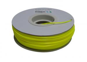 China Yellow 3.0mm Nylon Filament For 3D Printing Machine , 3D Printer Material on sale