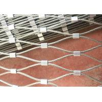 Stainless Steel Rope Mesh Fence for Green Wall System and Plant Climbing