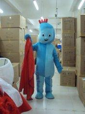 Quality popular cartoon characters Iggle Piggle and Upsy Daisy mascot costumes  for sale