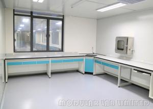 China H frame Suspended System Dental Laboratory Bench / Dental Lab Working Table on sale