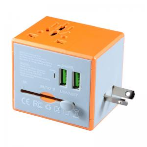 China New gadget electronic gifts travel plug usb adapter universal cell phone charger on sale