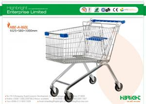 China 60L to 270L European style Supermarket Shopping Trolleys A Series HBE-A-160L on sale