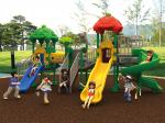 2019 best selling park play equipment, outdoor playground for commercial