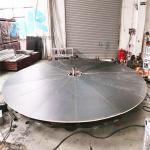 Multi Purpose 10m aluminum Rotating Lifting Stage Equipment