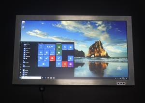 China Windows 10 System Industrial Touch Panel PC , Stainless AIO Capacitive Touch Panel on sale