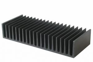 China 6063 6061 6005 Aluminum Heat Sink Extrusion Profiles Aluminum Radiator on sale