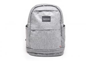 China Functional Cool Laptop Backpack , Teen School Backpacks With Glittering Lines on sale