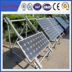 Tin Roof PV Solar Panel Aluminum Mounting System , solar brackets, commercial solar system