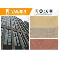 Exterior Wall Tiles Lightweigh Slate Decorative Stone Tiles 3mm Thickness for High Buildings