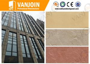China Exterior Wall Tiles Lightweigh Slate Decorative Stone Tiles 3mm Thickness for High Buildings on sale