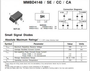 DIODE SIGNAL BAV70LT1G SOT-23,Price For:  5 70V ON SEMICONDUCTOR