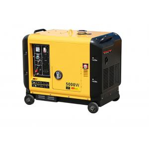 China Home Diesel Powered Portable Generator Portable Size 5000 Watt Soundproof on sale