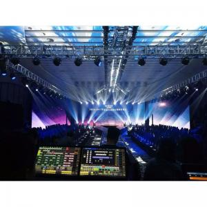 China Led Video Wall 500*1000mm P3.91 Advertise Die-casting Aluminum Indoor Rental Display on sale