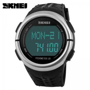 China LCD Display Multifunction Digital Watch Pedometer measure Calories Heart Rate on sale