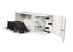 China Mulit - Function Fiber Distribution Cabinet Fiber 48 Core Wall Mount Optic Hub Box on sale