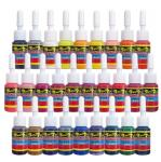 40 Basic Colors Tattoo Ink Set Pigment Kit 5ml Pigment Safe Reliable Material