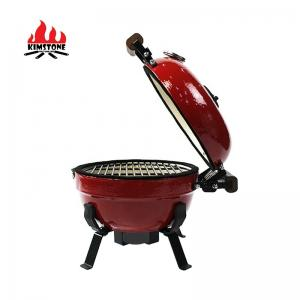 China ceramic bbq grill 12 inch  mini portable ceramic charcoal BBQ grills for outdoor cooking on sale