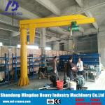Exported to USA Canada Customized Jib Crane with Wire Rope Electric Hoist